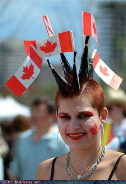 Granny Au-pair presents a Canada Punx