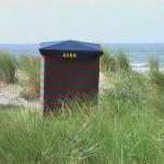 Mein Strandzelt am Suedstrand