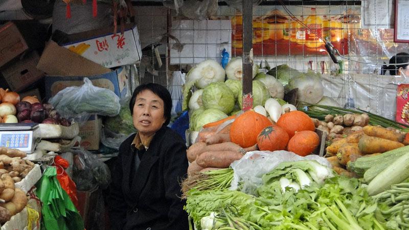 Transsibirische Eisenbahn: China - Erlian, Markt