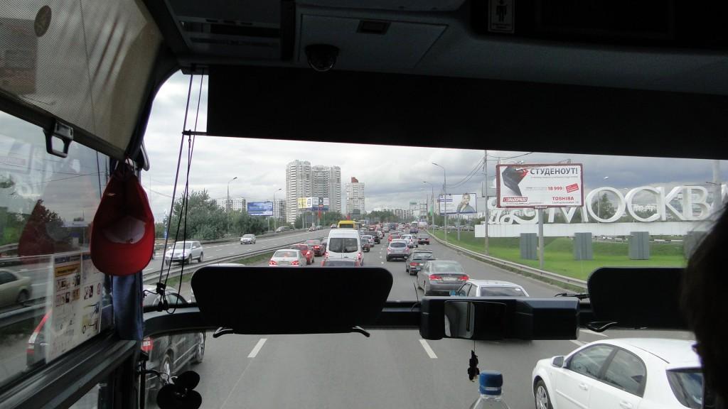 Eden-Borkum.de Russland Moskau Bus