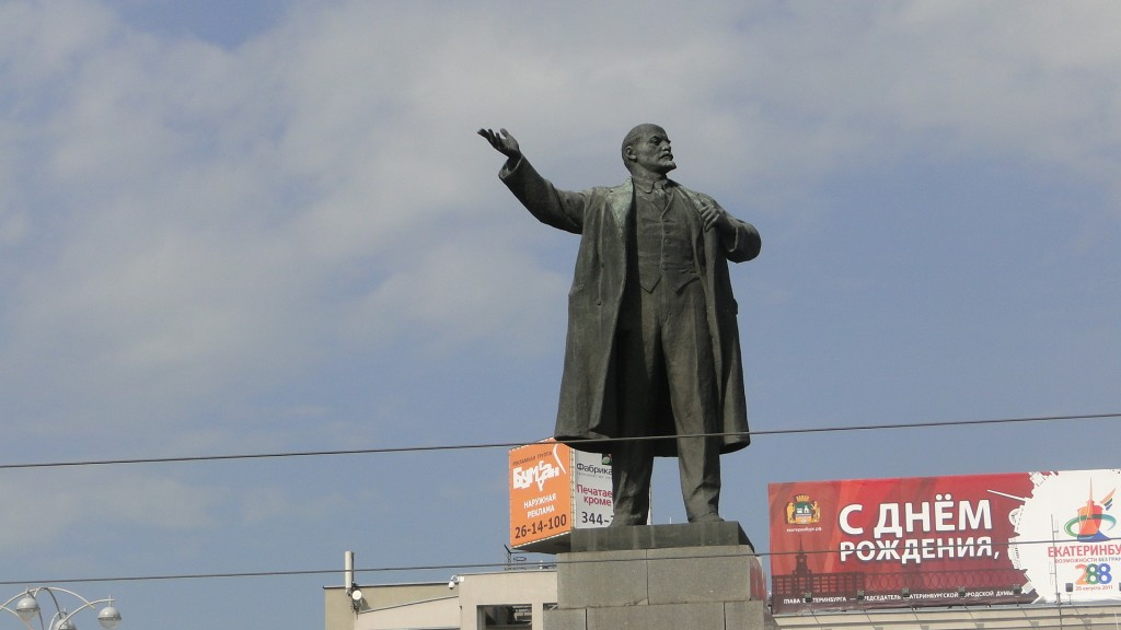 Jekaterinenburg - Lenindenkmal