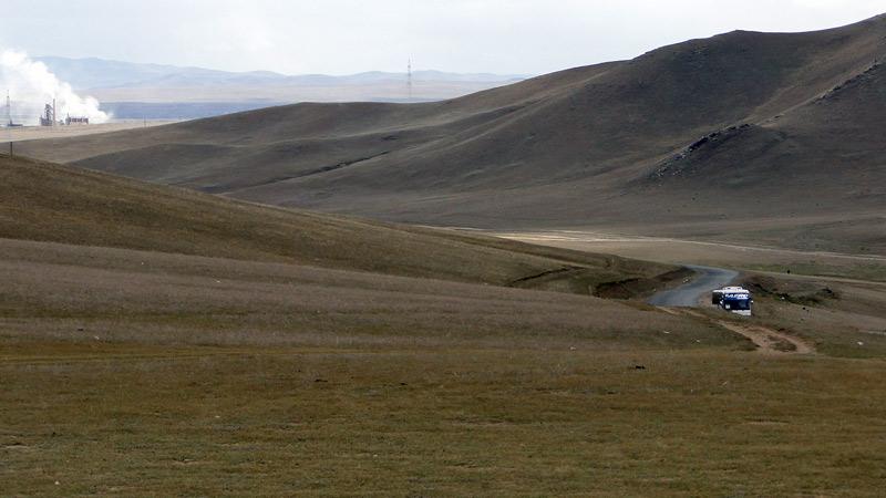 Transsibirische Eisenbahn: Mongolei - Pampa in Ulaan Bataar