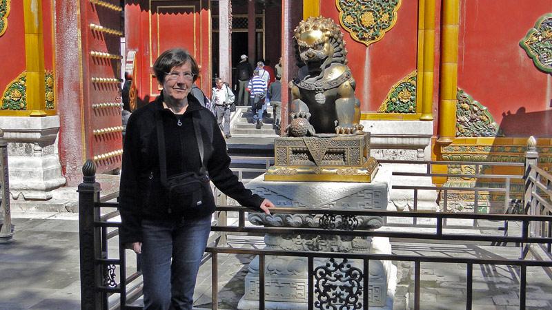 Transsibirische Eisenbahn: Lioness Heidi and Lions Club Peking