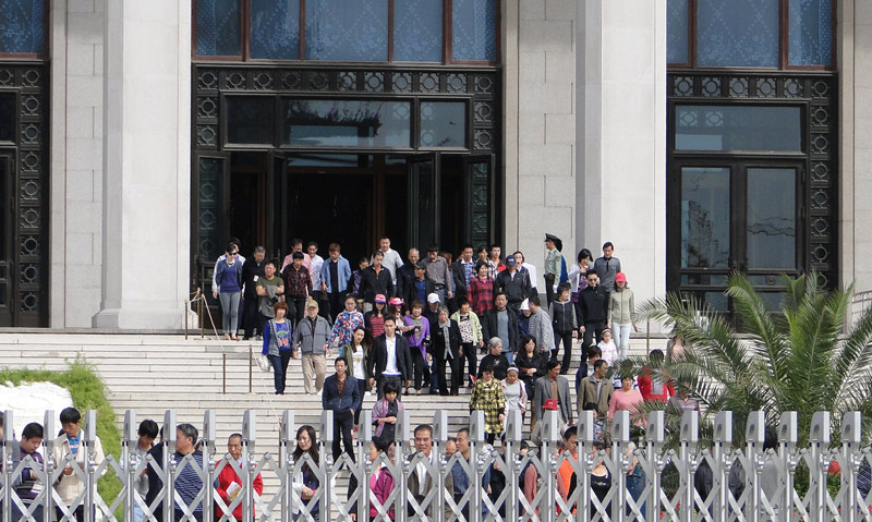 Transsibirische Eisenbahn: Peking - Mao Mausoleums