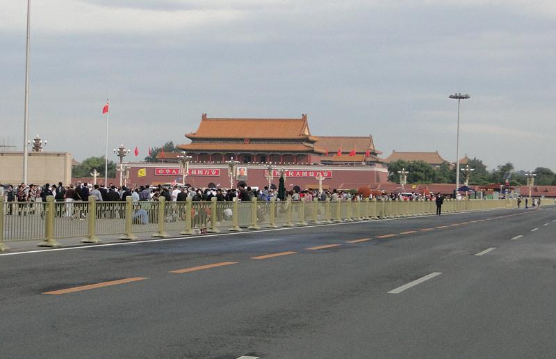 Transsibirische Eisenbahn: Peking - Platz des himmlischen Friedens