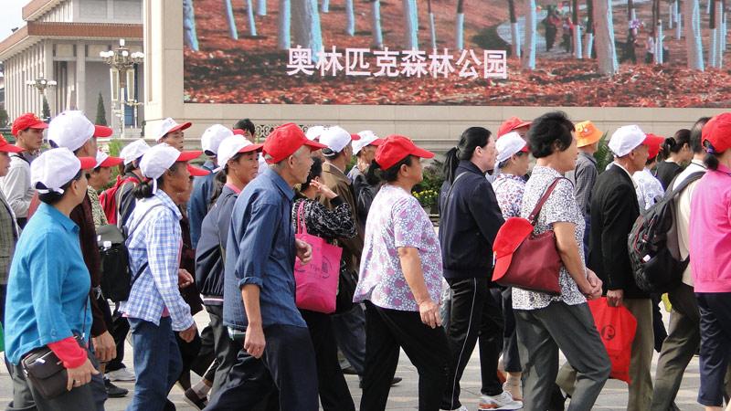 Transsibirische Eisenbahn: Peking - Platz des himlischen Friedens
