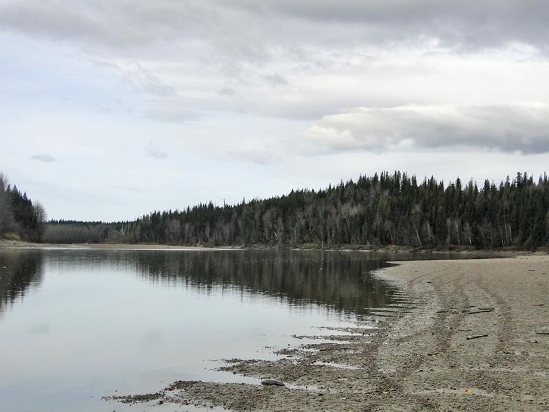 Fraser River near Longworth