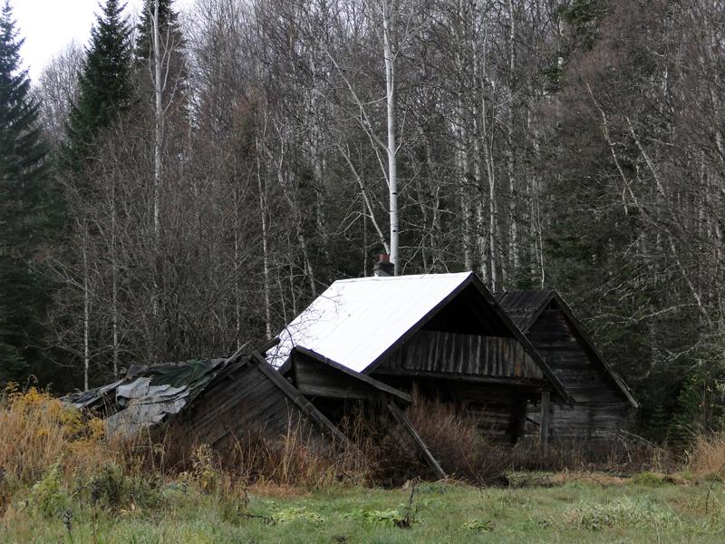 Longworth - verlassene Haeuser