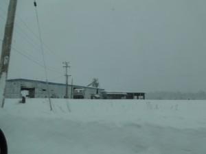 Sägewerk in Upper Fraser