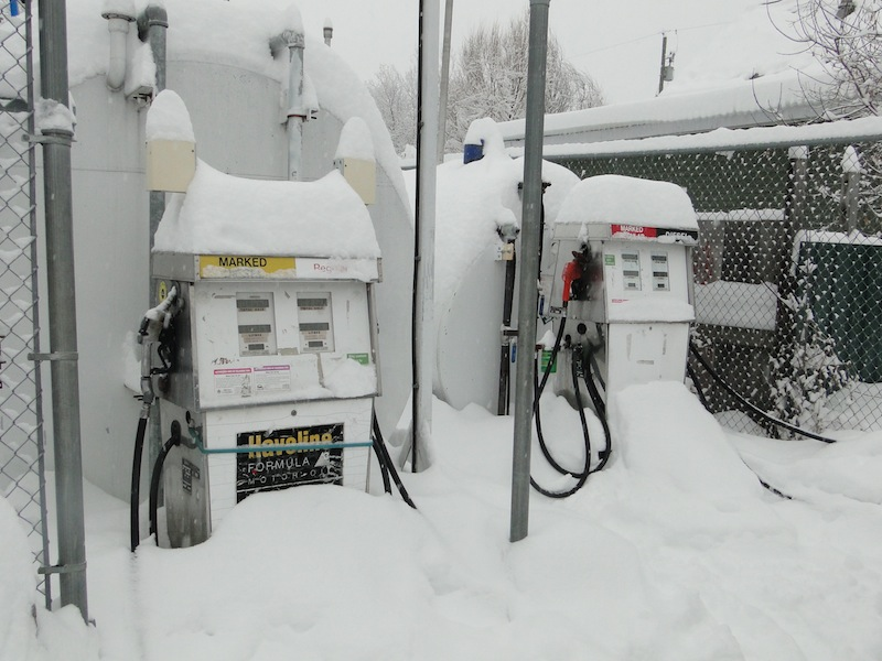 Tankstelle in Willow River