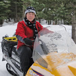 GrannyAuPair Heid Eden & Snowmobil
