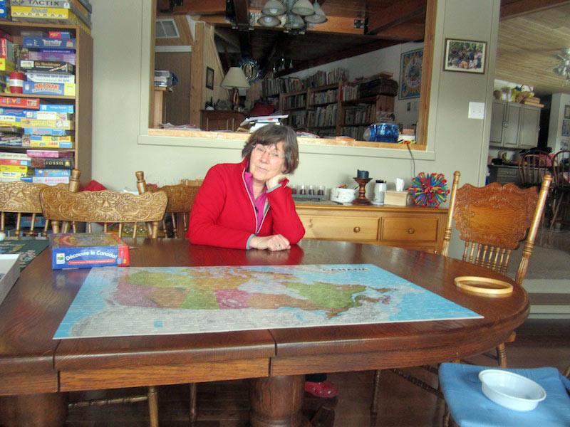 Granny AuPair Heidi & ein Nordamerika-Puzzle