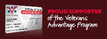 Wendy.com - proud Supporter of the Veterans Advantage Programm