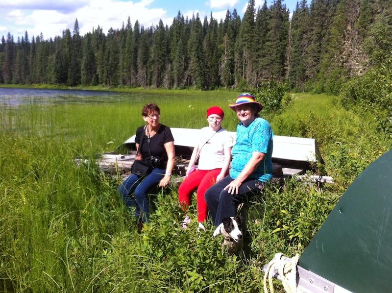 Toneko Lake, Heidi, Fiona, Gundula