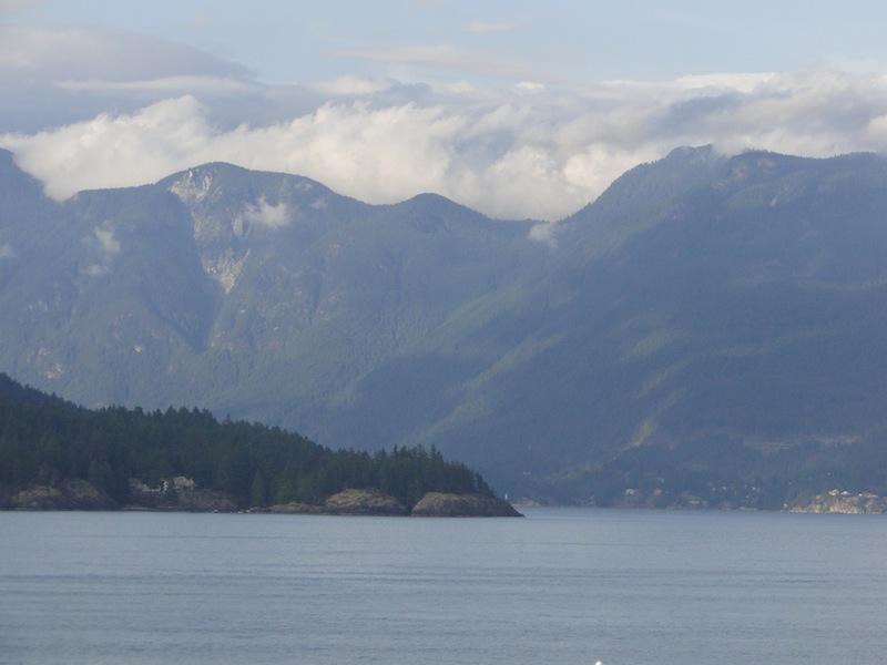 Überfahrt Nanaimo auf Vancouver Island Richtung Vancouver