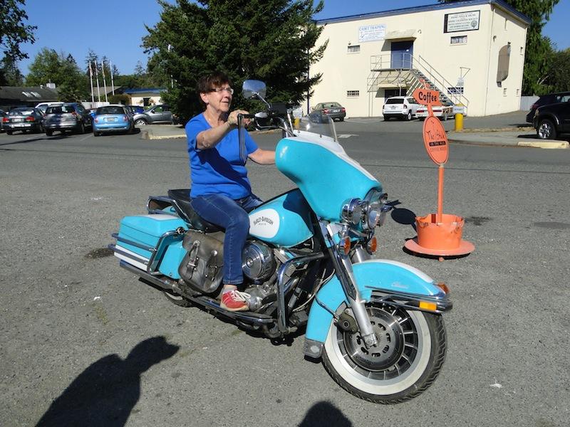 Die Harley von Brian Adams