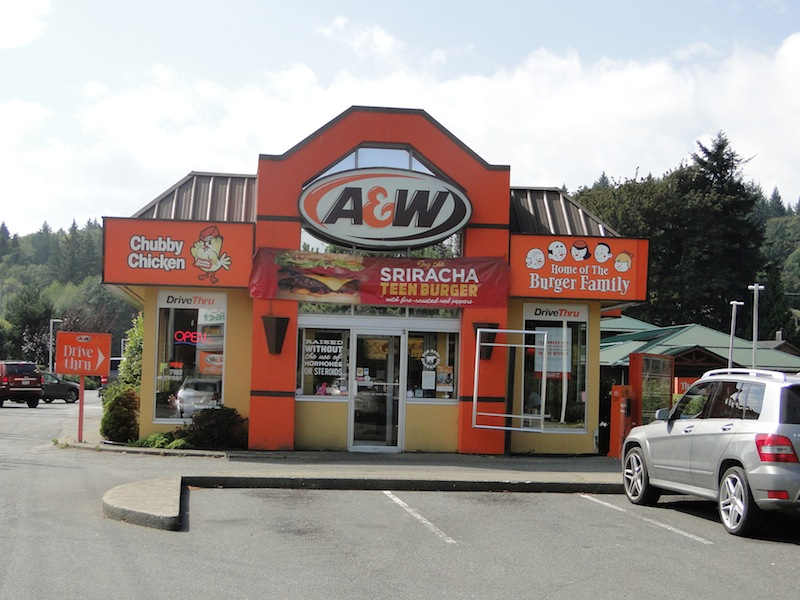A&W in Duncan