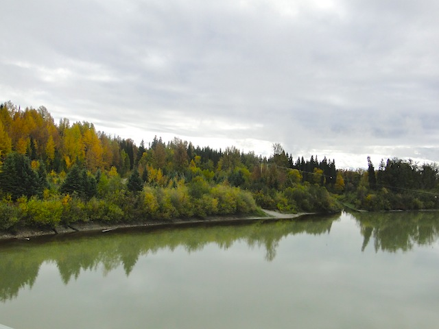 Indian Summer, Fraser River