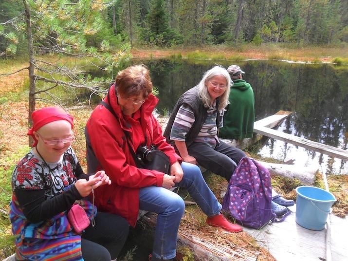 Fiona, Heidi, Gundula, Robin