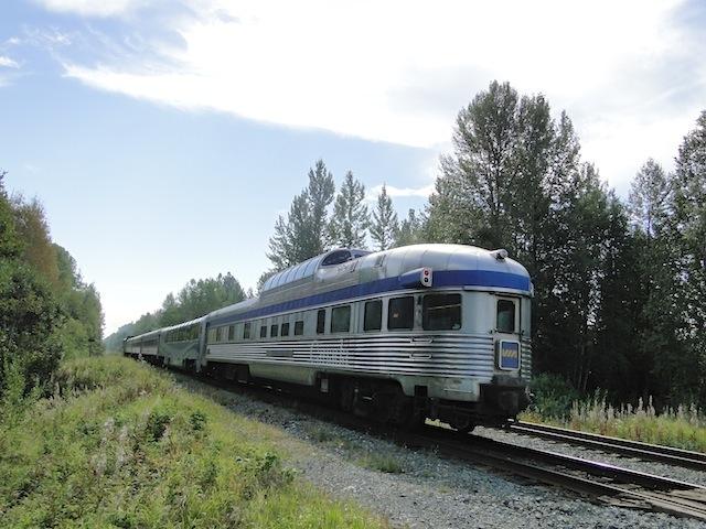 Personenzug der VA Rail