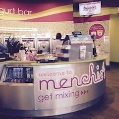 Ein Eisladen mit Selbstbedienung
