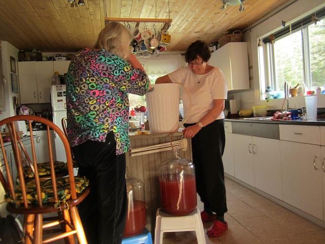 Zubereitung Apfelwein