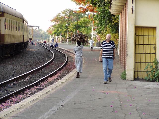 Erkundung des Bahnhofs