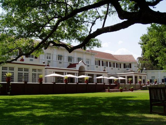 """Das weltbekannte """"Viktoria Falls Hotel"""""""