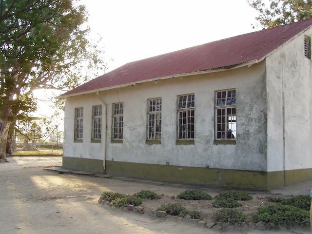 Gebäude der Klassenräume