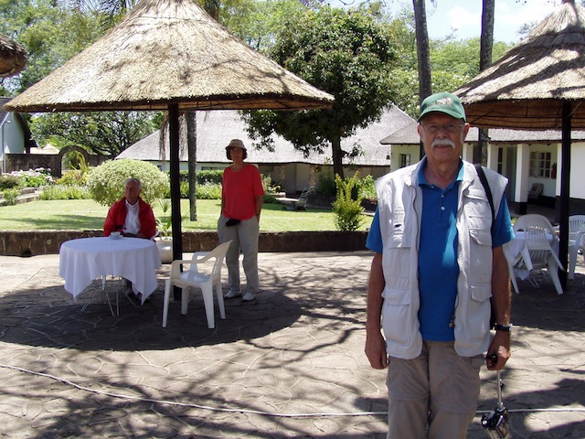 Mittagspause in einer Logde für Touristen