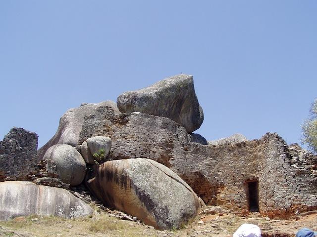 """Ruinen des """"Great Simbabwe"""" -Weltkulturerbe"""