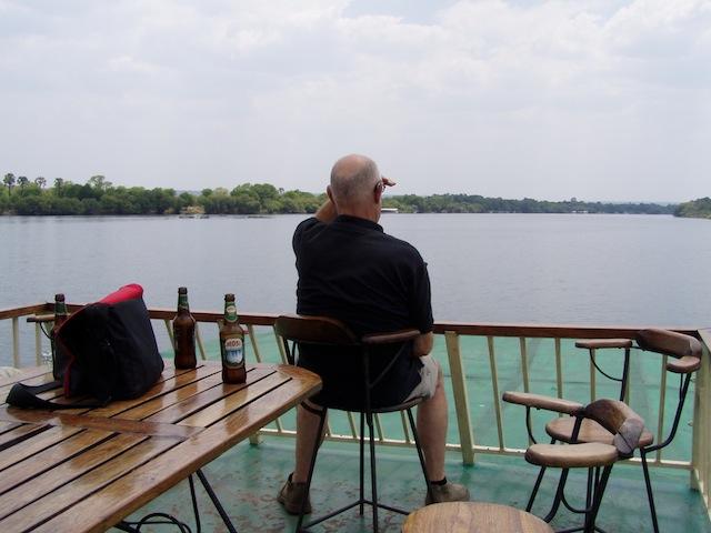 Fahrt auf dem Chobe-Fluß