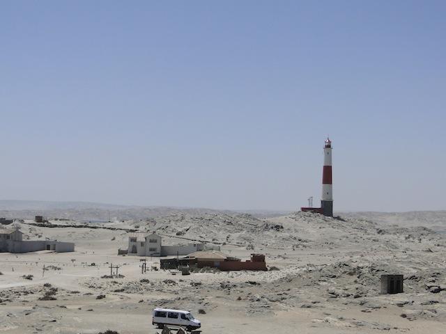 Leuchttum in der Lüderitzbucht