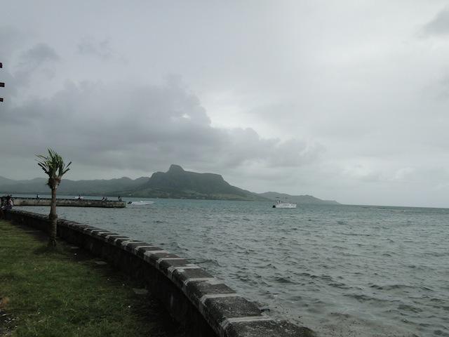 Trotz dicker Wolken kaum Regen