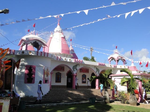 Tempel in Grand Bay