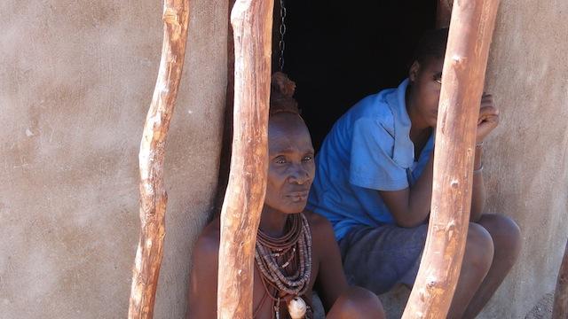 Selten zu sehen: ein ältere Frau