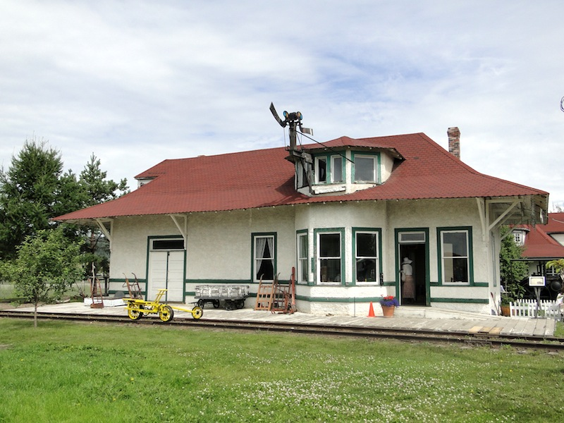 Alter Bahnhof, stand mal in Penny