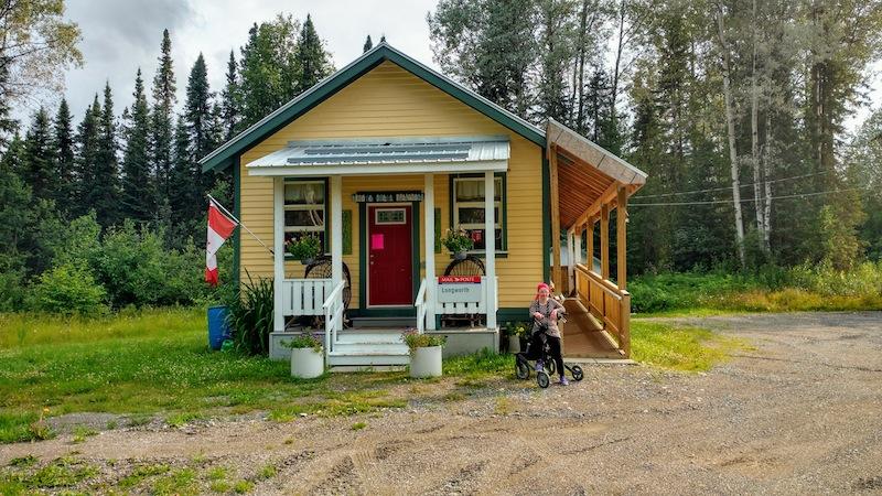 Die Poststation ist seit ein paar Jahren in der alten Schule von Longworth