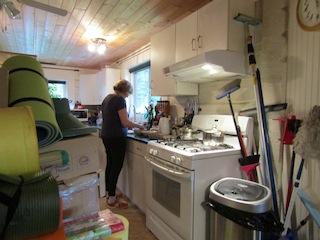Lunch zubereiten, Kuchen backen,  und vieles mehr
