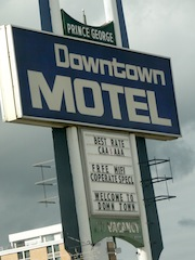 Motel in der City